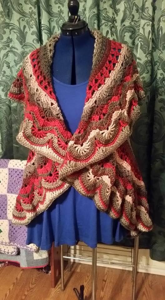 Caron Cakes Crochet Sweater | Caron Cakes | Pinterest