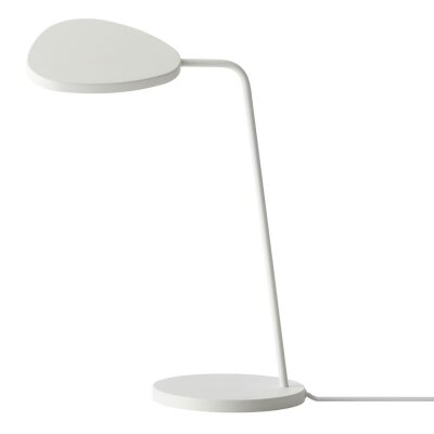 White Leaf Table Light Muuto With Images Leaf Table Light Table Dimmable Led Lights