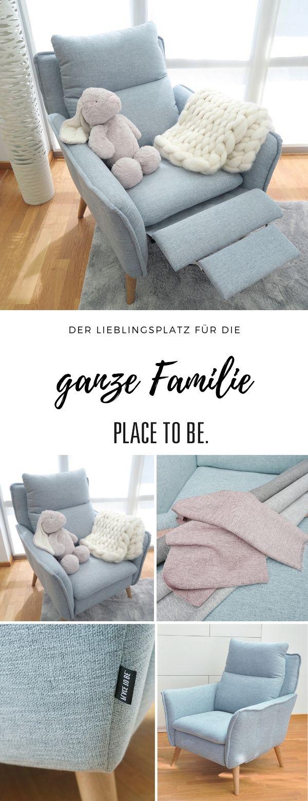 Photo of Relaxsessel mit Liegefunktion im skandinavischen Stil