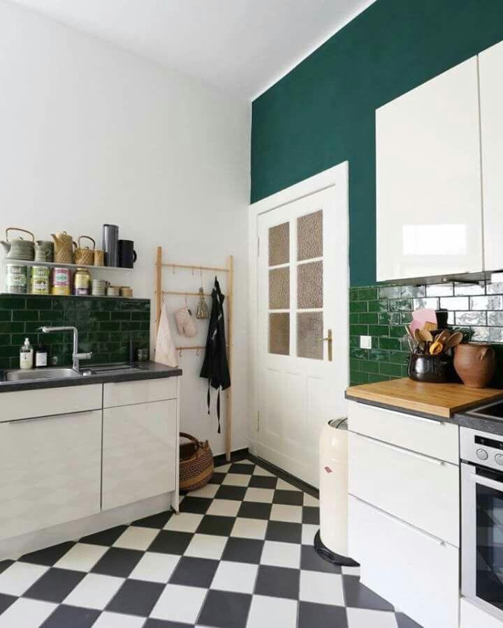 pin de gosia goch en kuchnia   cocina verde azul, diseño