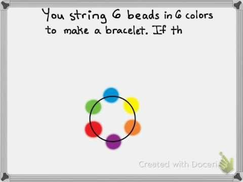 How many bracelets can you find?  A #Doceri Math Puzzle