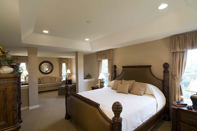 Master Bedroom: sure could use a little sitting room! | //www ... on small house bedroom design, brick wall bedroom design, nursing home bedroom design, living room bedroom design, townhouse bedroom design, hotel bedroom design, interior design, hunting lodge bedroom design, luxury bedroom design, custom bedroom design, condominium bedroom design, mobile home bedroom design, office bedroom design,