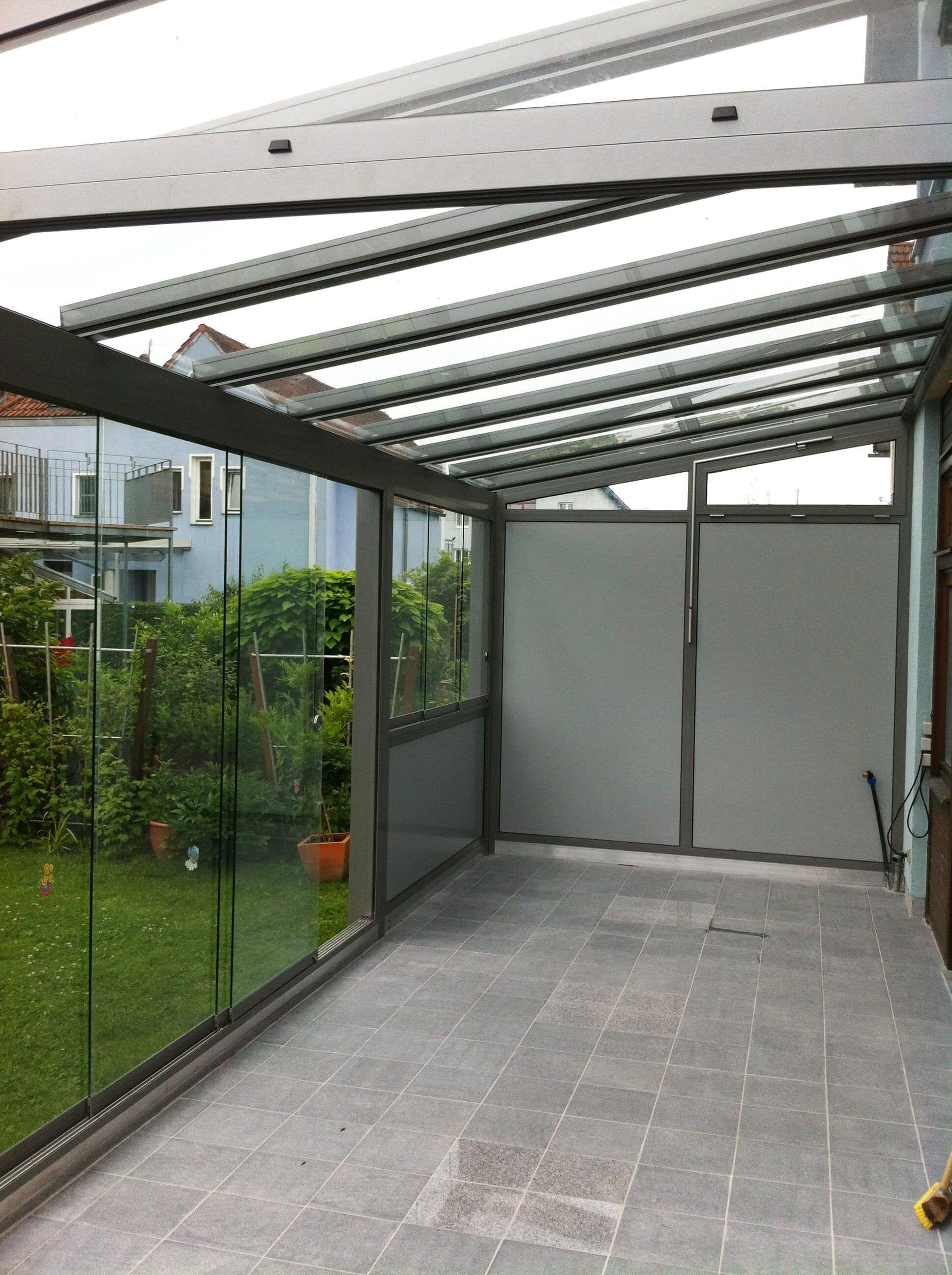 Terrasse mit Sichtschutz Schutz vor neugierigen Blicken
