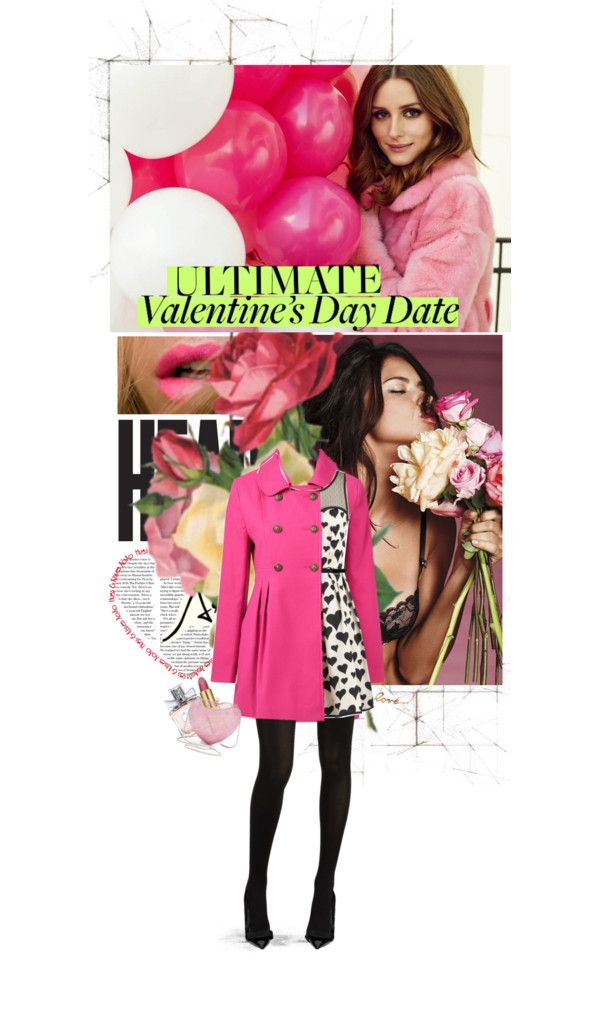 """""""When you kiss me, I see la vie en rose*"""" by maria-j ❤ liked on Polyvore"""