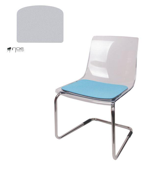 Sitzauflage Stuhl filz sitzauflage geeignet für ikea tobias stuhl