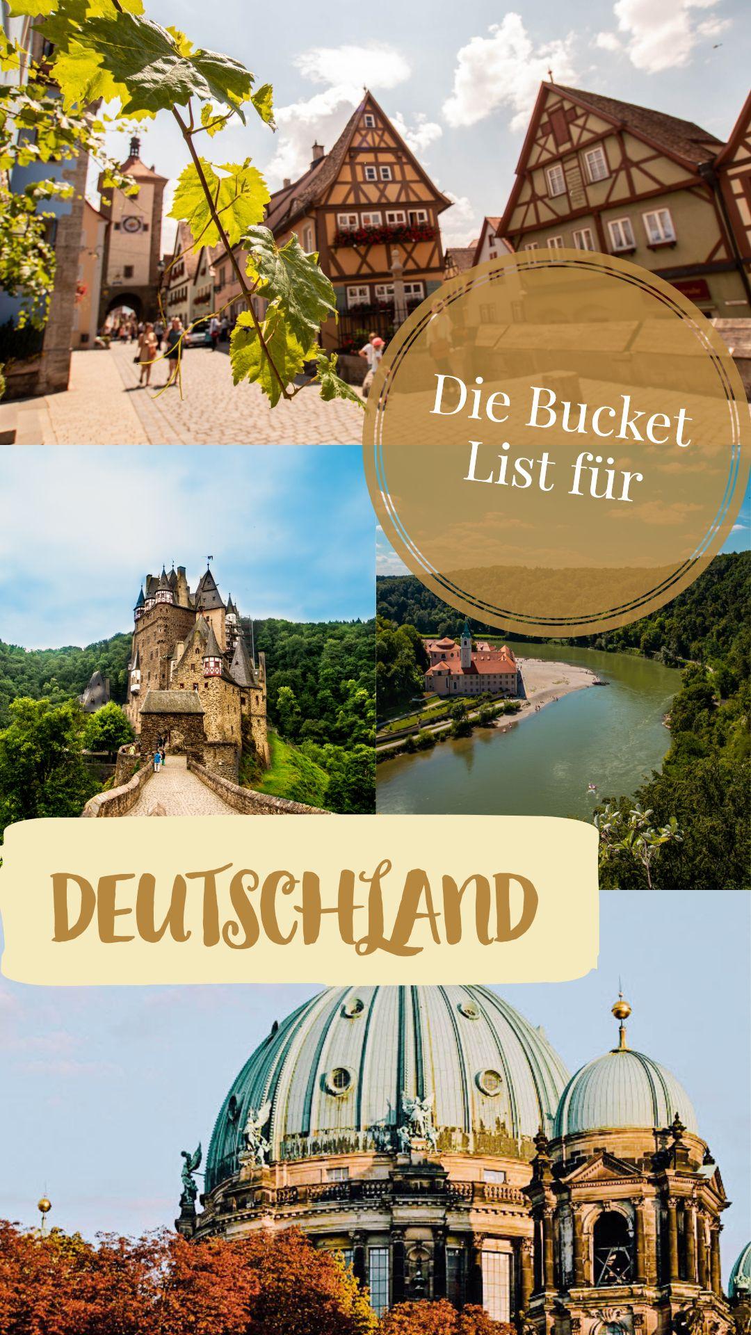 Was solltest du in Deutschland gesehen haben?