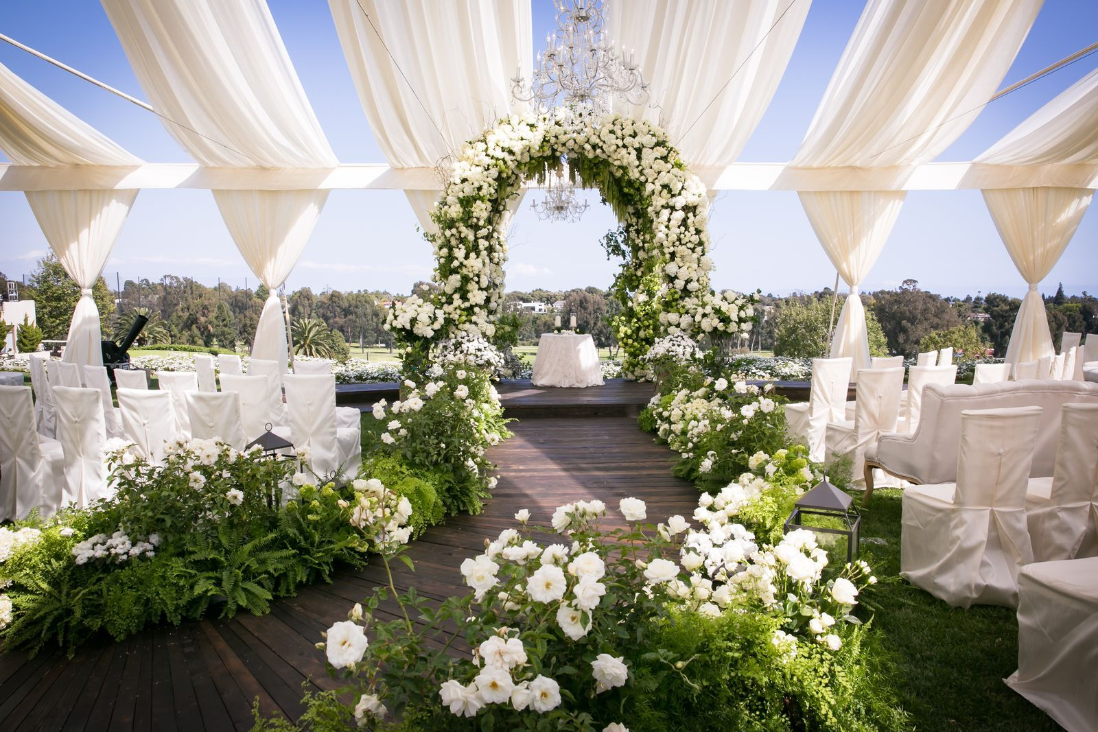 Bazaar S Little Black Book The Top Wedding Planners In The World Wedding Arch Outdoor Wedding Top Wedding Planners