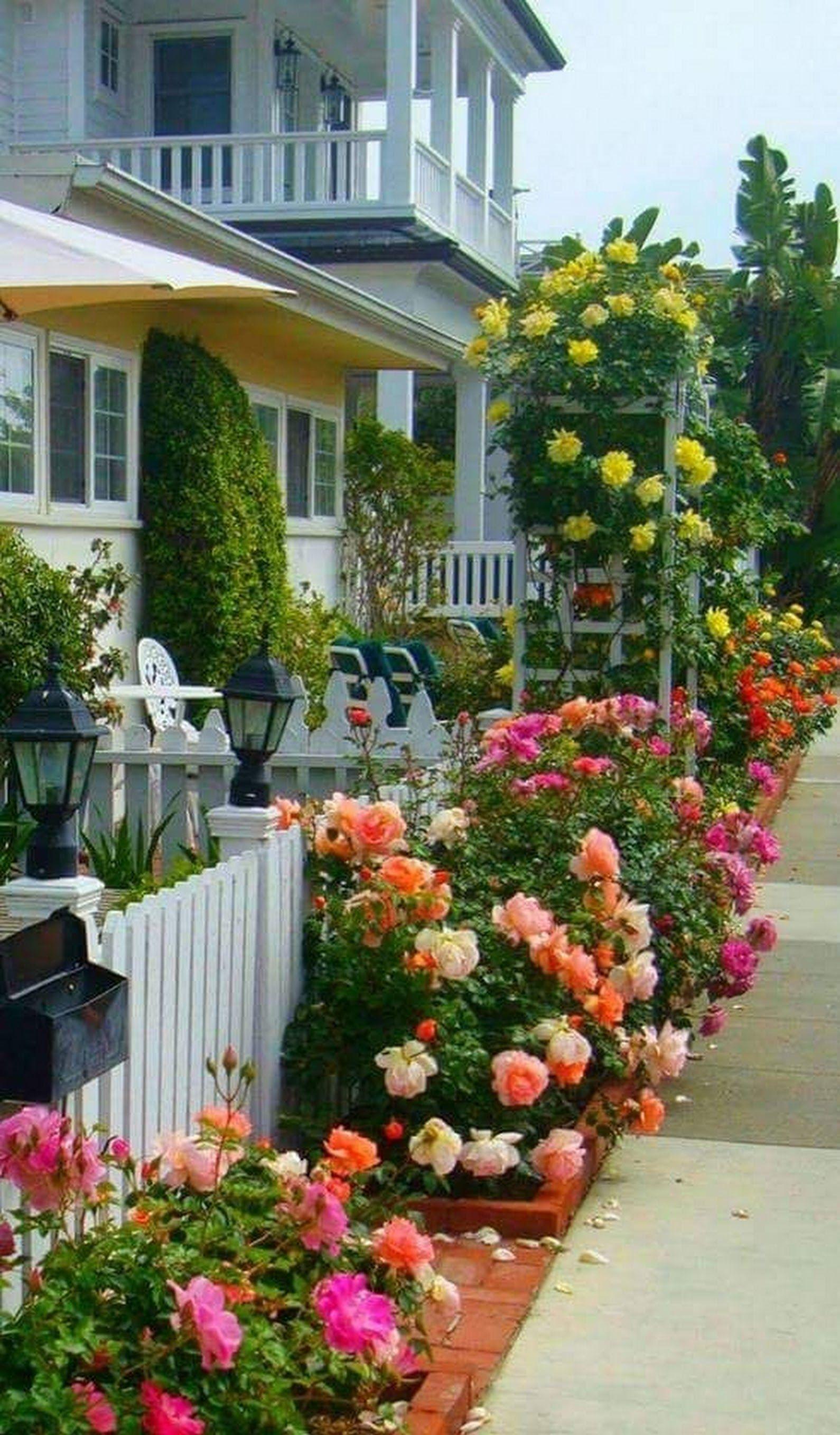 hermosas ideas de paisajismo en el patio trasero El Perfil De Jardinera Y Galera Jardines Decoraciones De