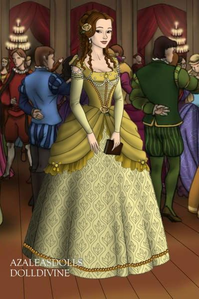 Belle in the French Court by LadyAquanine73551.deviantart.com on