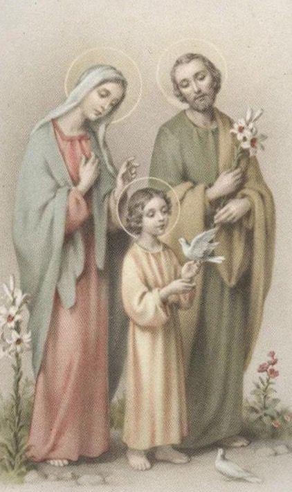 En un lindo día de sol, La Sagrada Familia sale a pasear, y mientras van de camino hablan de Dios, el Padre Bueno y Misericordioso,que a todos nos quiere por igual.