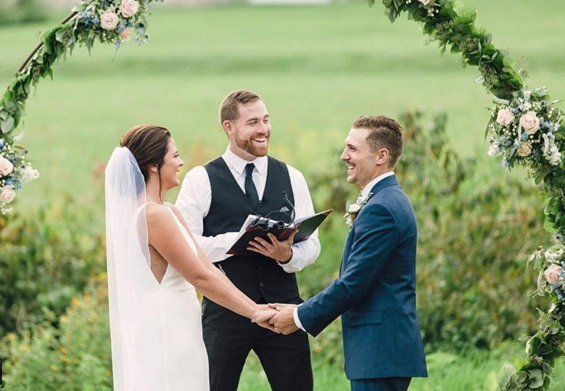 Is A Friend Officiating Your Wedding 5 Must Do Tips Wedding Officiant Wedding Venues In Virginia Chicago Wedding Venues