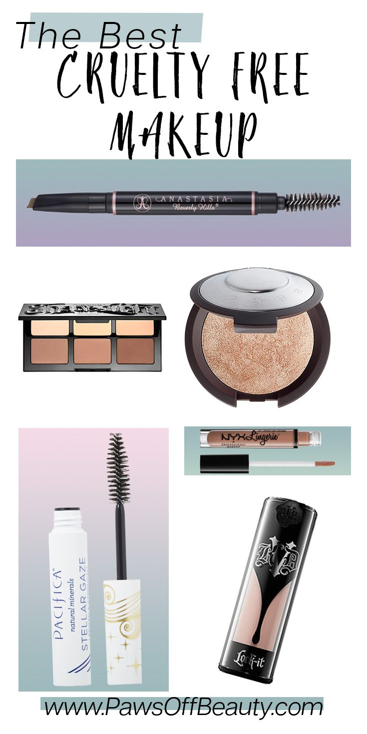Cruelty Free Makeup Best makeup brands, Cruelty free
