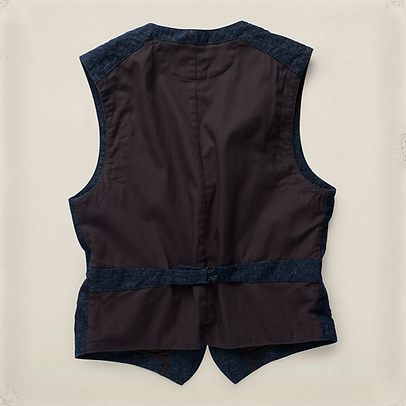 Mitchell コットンヘンプ ベスト ・ メンズ 新着商品 ・ ハイライト ・ メンズファッション通販 | RRL - Ralph Lauren Japan (ラルフローレン)
