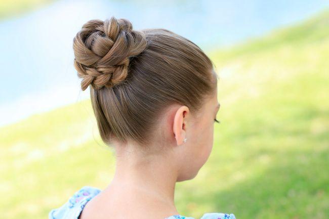 Cute girls hairstyles 3d flower braid hair pinterest girl cute girls hairstyles 3d flower braid solutioingenieria Images