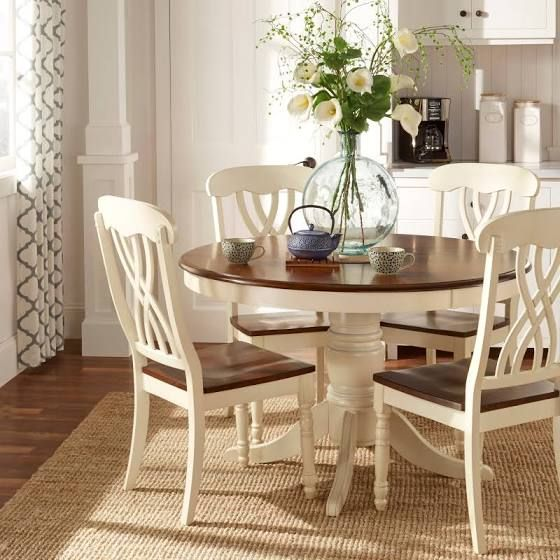 round dining room table sets tufted chairs | round dining tables