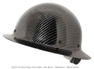 Carbon Fiber Hard Hats | Our Products >> CC™ Carbon Fiber Hard Hat