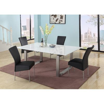 chintaly ebony extendable dining table products extendable rh pinterest ca