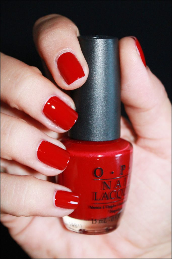 OPI… Quarter of a Cent-cherry | beauty | Red nails, Opi nail colors ...