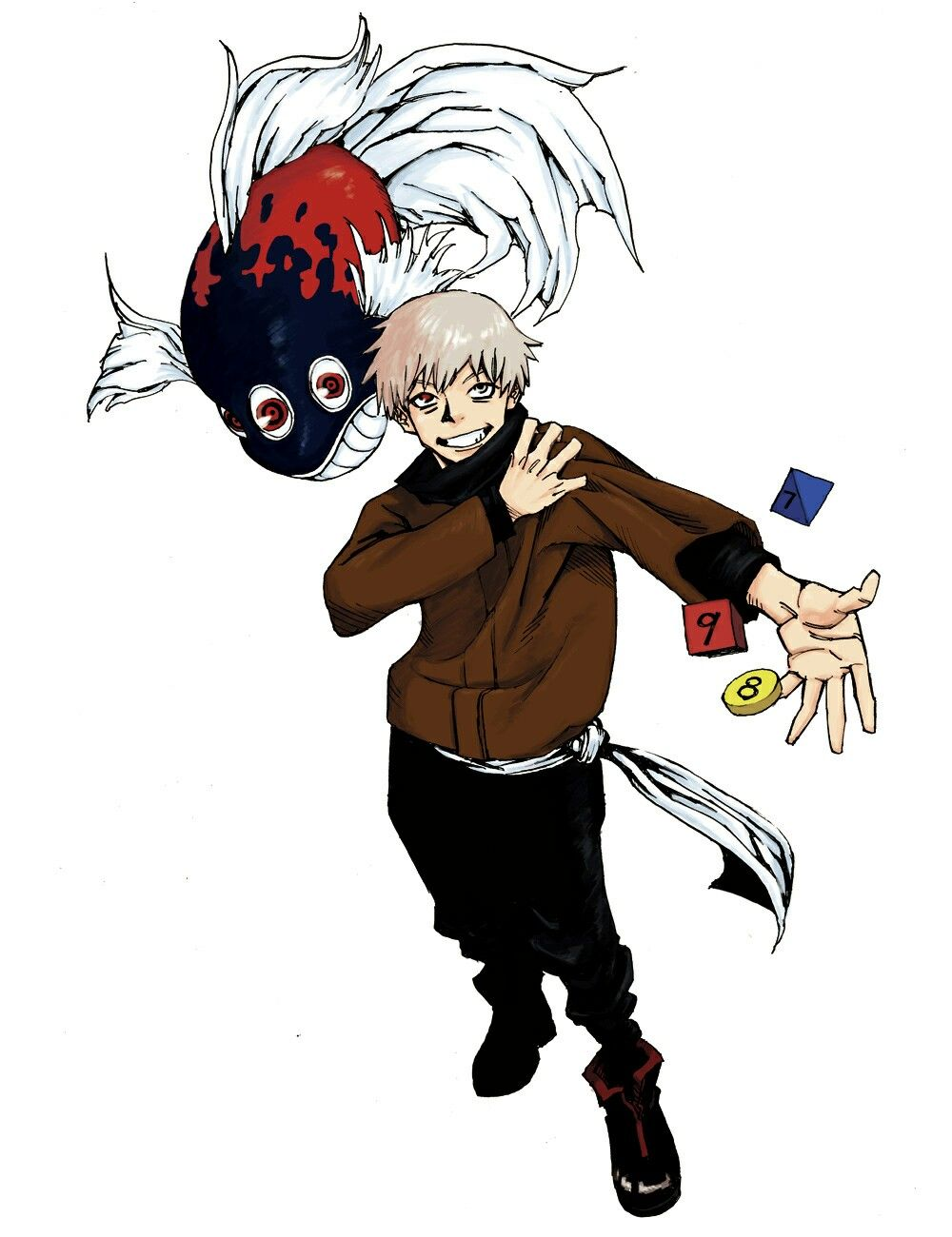 「No.9」 芥見下々 > ジャンプNEXT!! 2015 vol.2 マンガアート, 呪術, アニメ