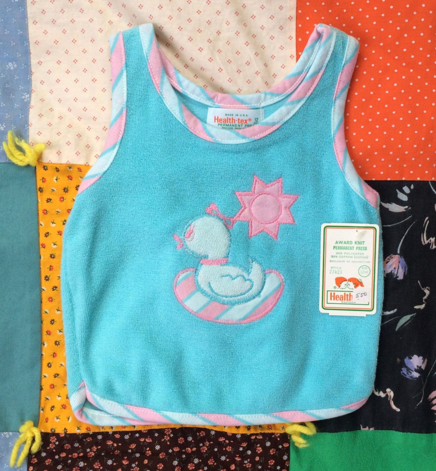 Healthtex Duck Shirt 9-12 Months NOS by lishyloo on Etsy