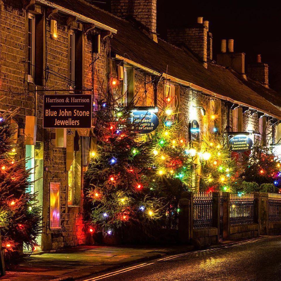 Christmas Lights in Castleton, Derbyshire (met afbeeldingen)