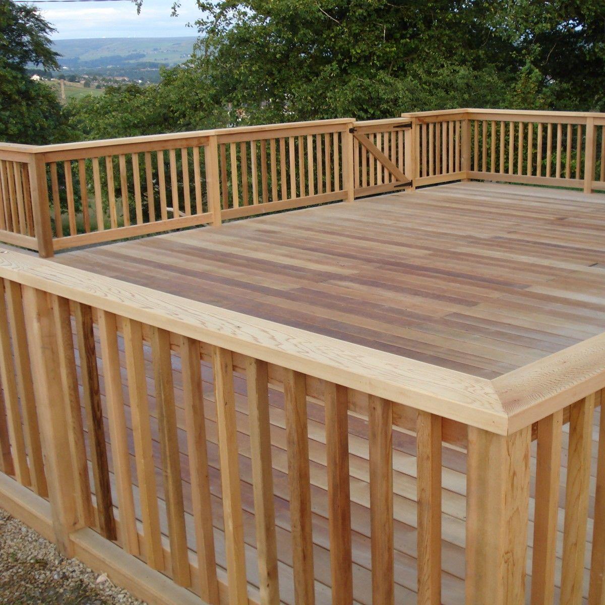 Wood deck railing ideas - When it comes to deck handrails ...