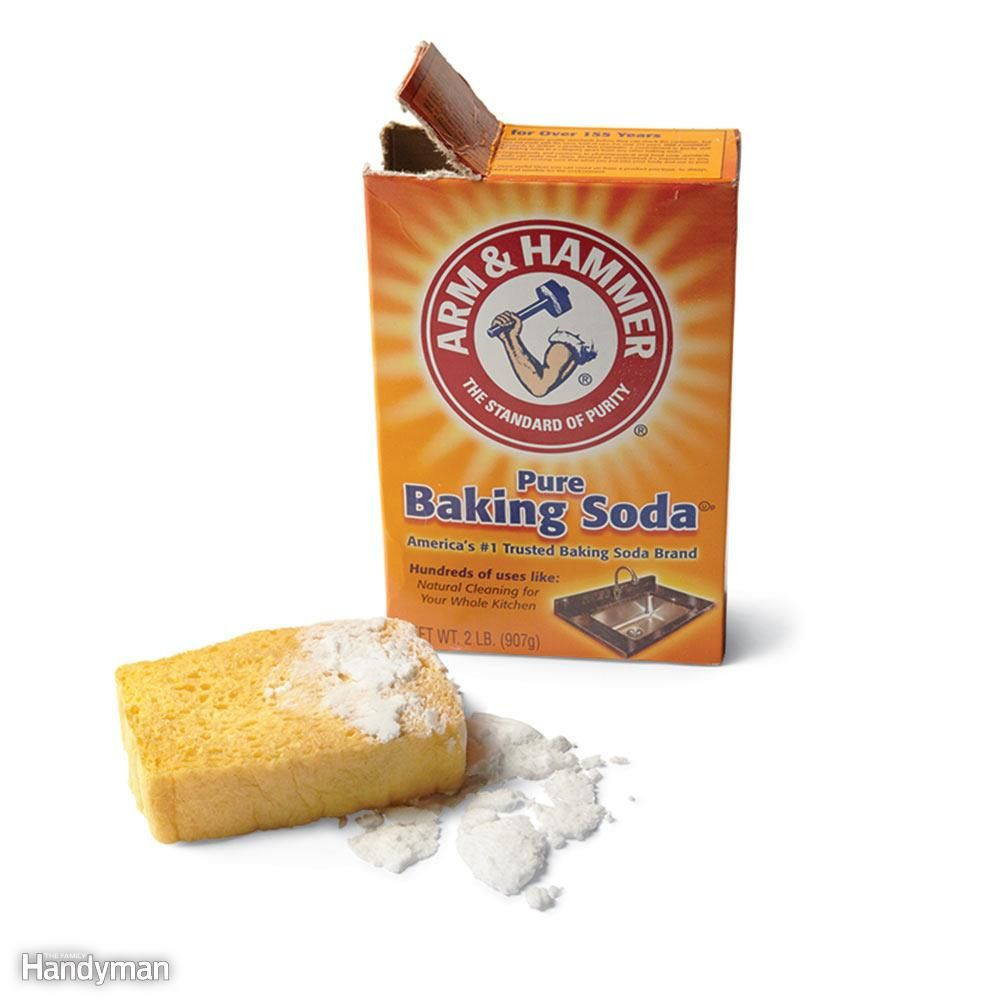 Bad smell in the house cedar chips baking soda smelling