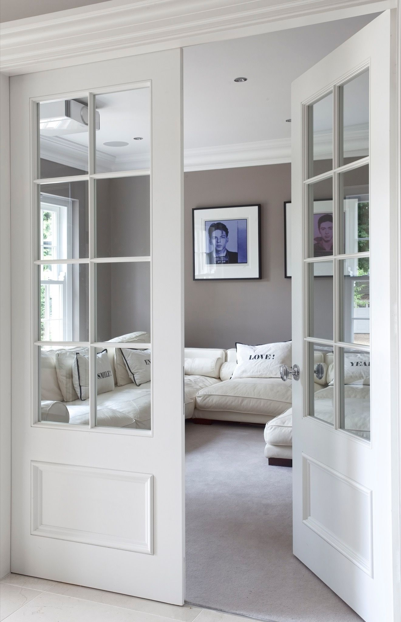 Upgrade Option Add French Doors To The Front Sitting Room For