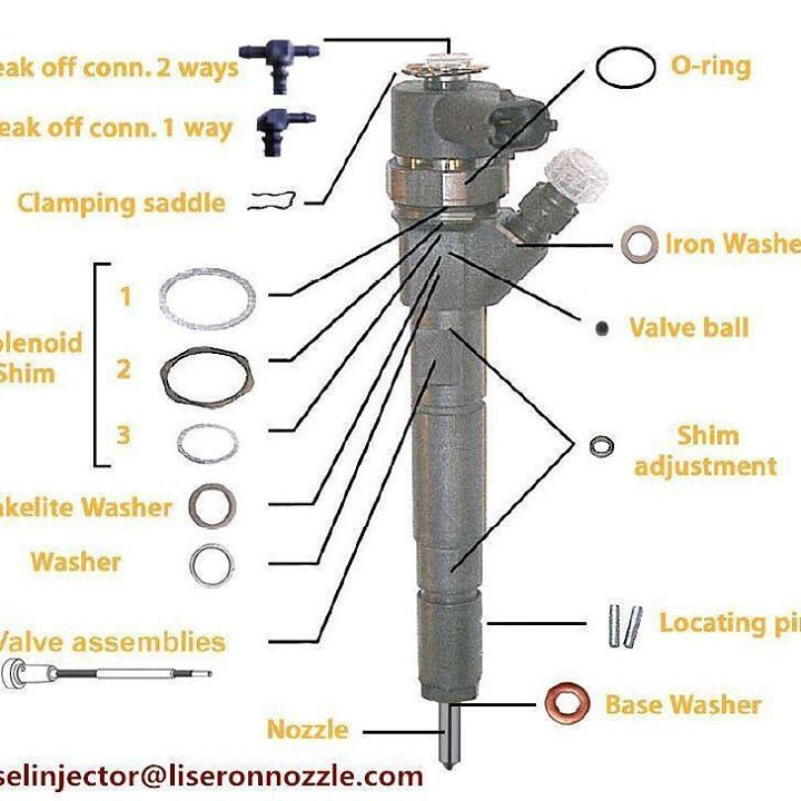 Bosch diesel nozzles