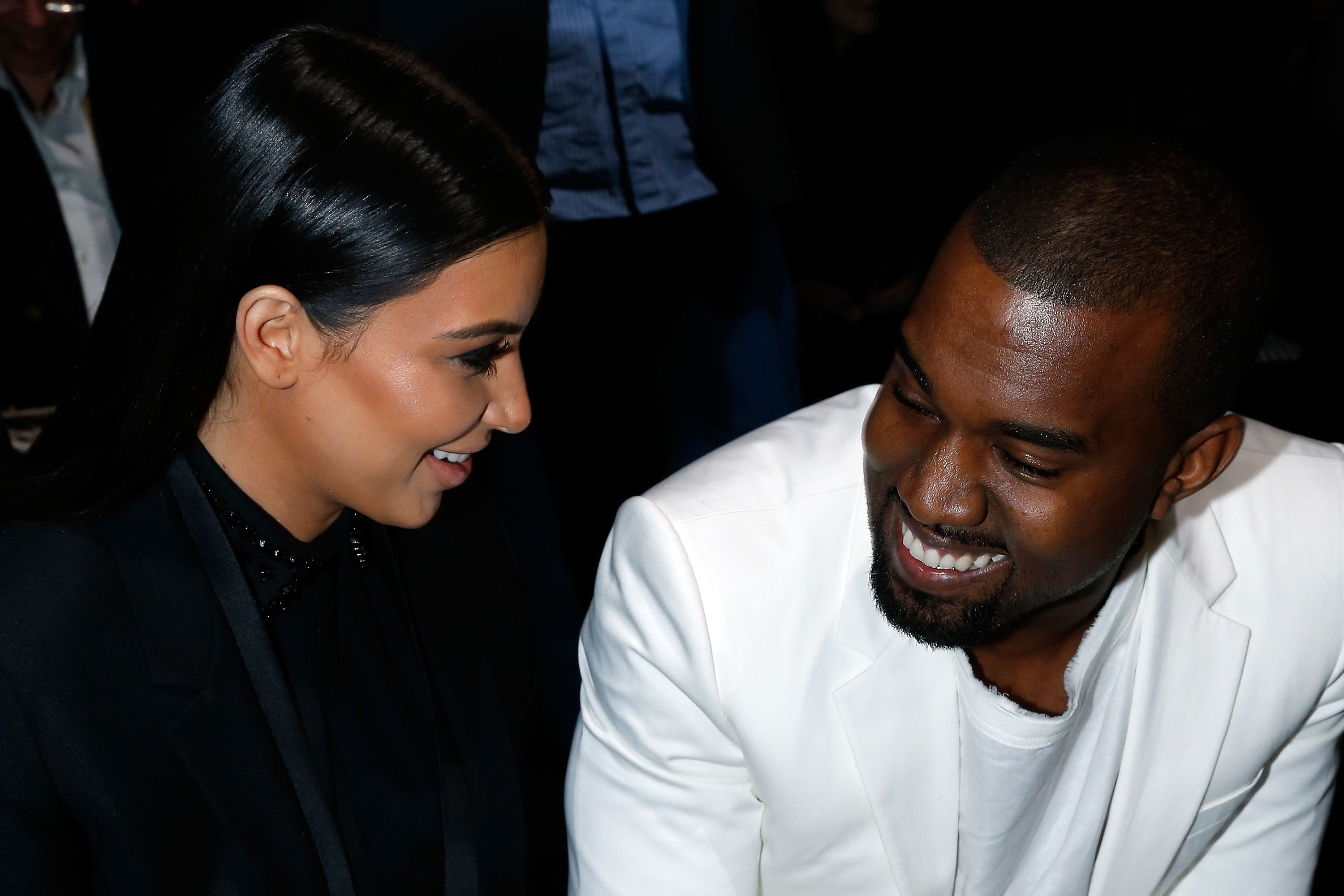 A Complete Guide to Kanye West Smiling in the FrontRow