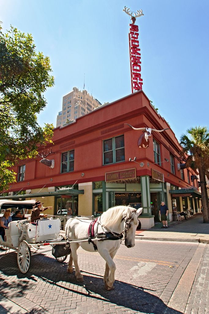The Beautiful Exterior Of The Buckhorn Saloon Amp Museum It