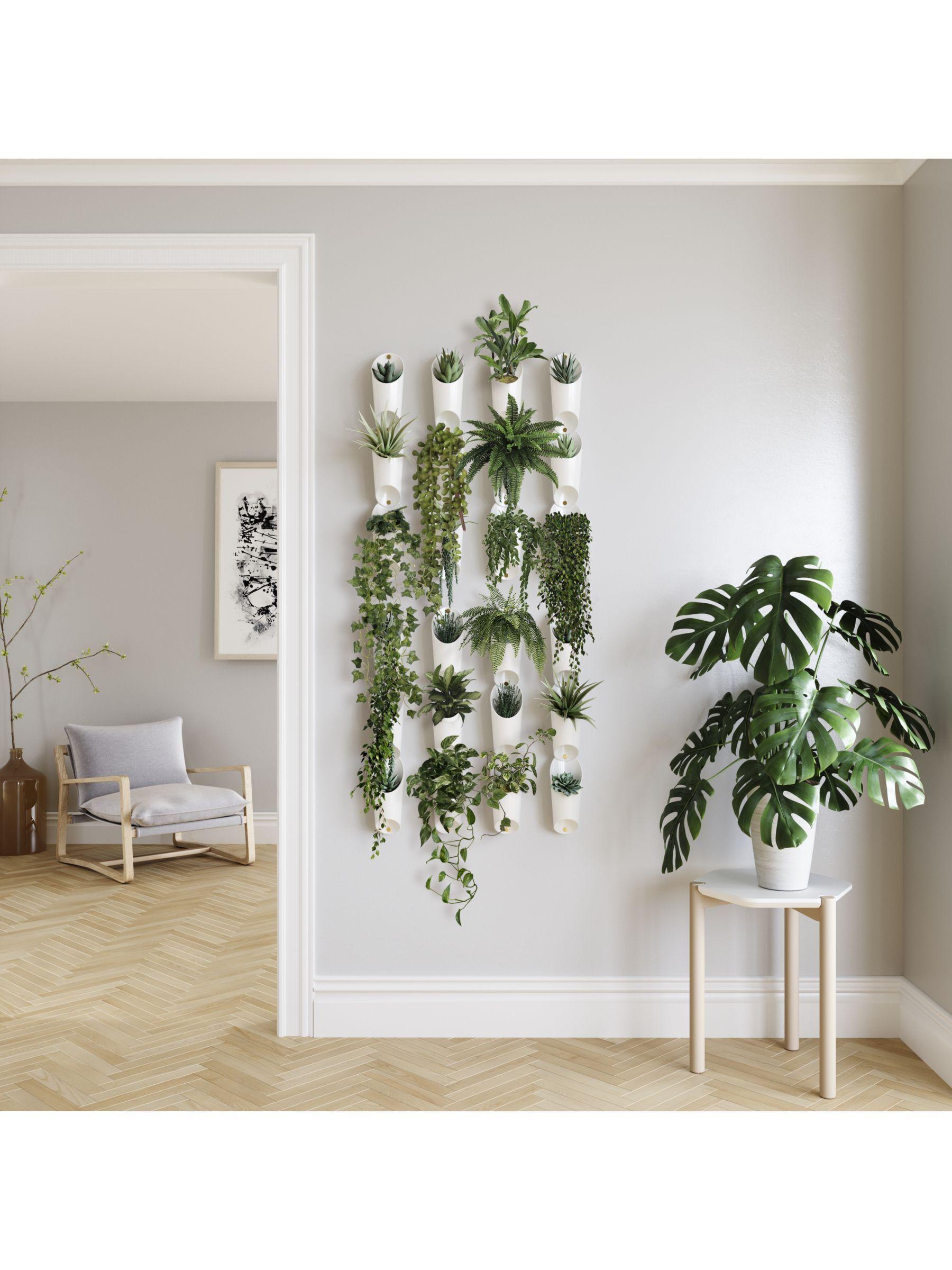 Photo of Umbra Floralink Wall-Mounted Organiser/Planter, Set of 3, White