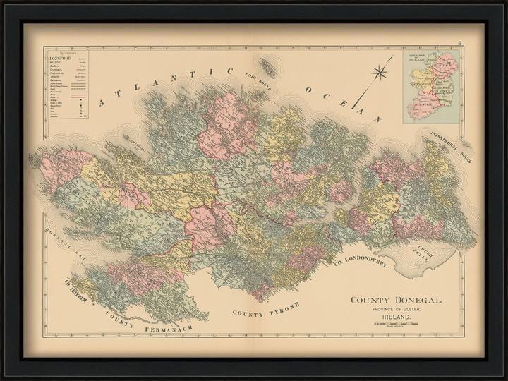 24x36 Vintage Historic Map Manayunk Pennsylvania 1907