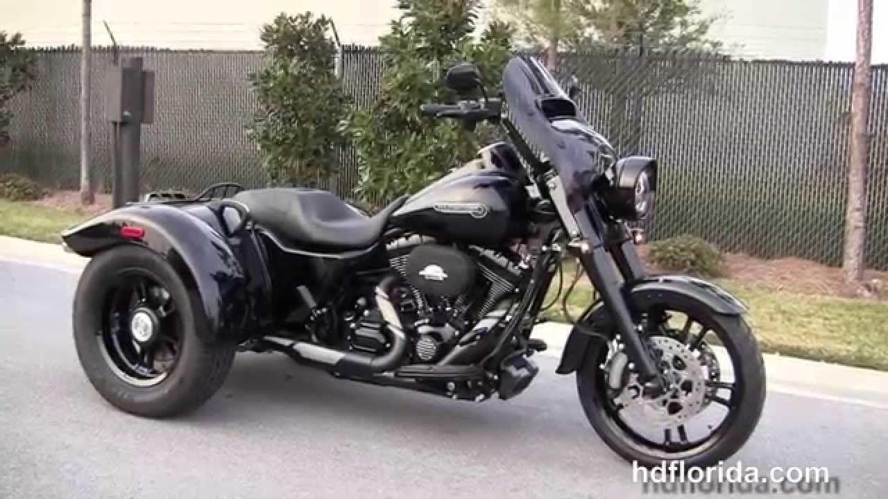 New 2015 Harley Davidson Flrt Freewheeler Trike For Sale Youtube Freewheelers Harley Davidson Harley Davidson Images