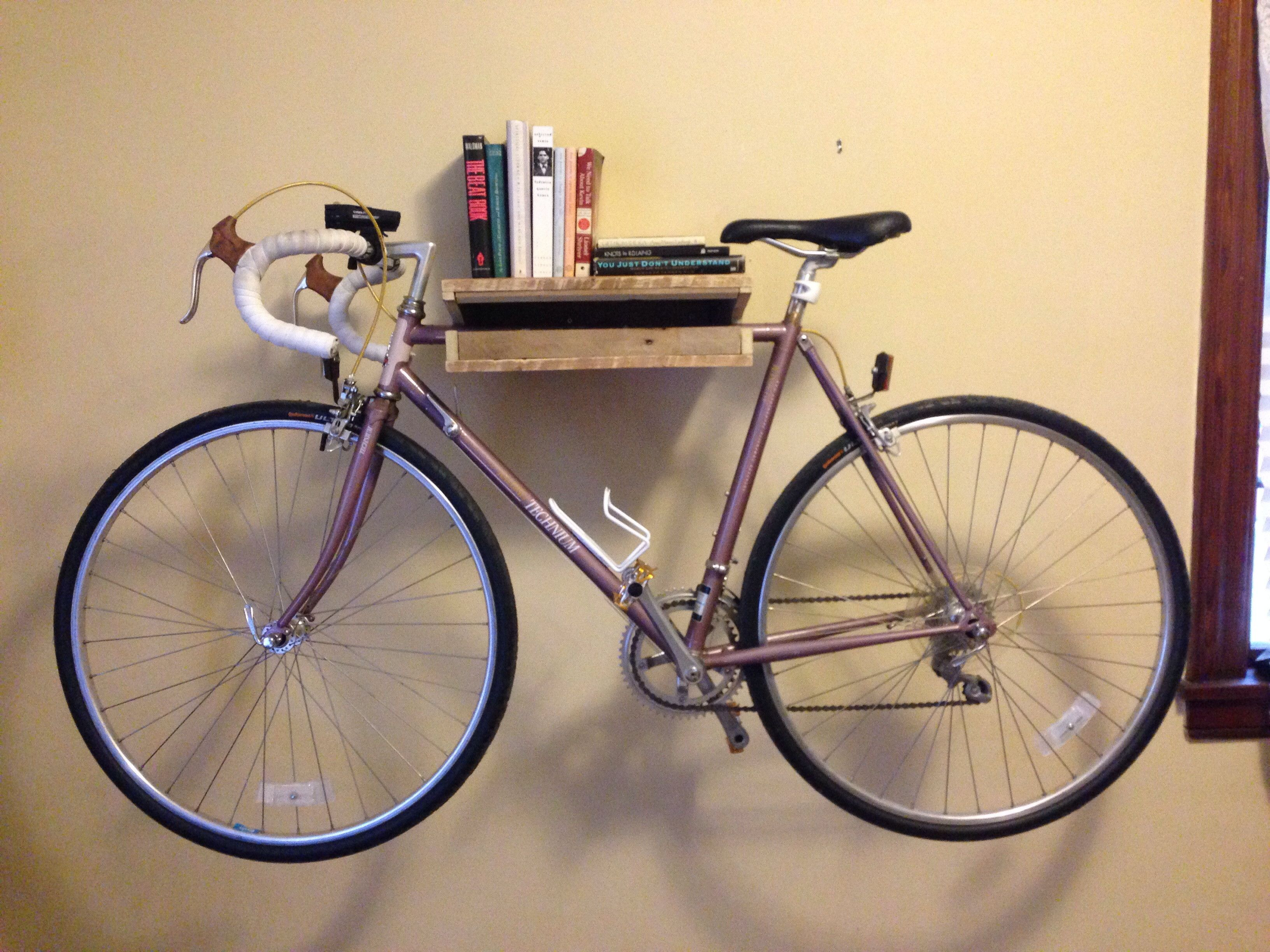 Diy Bike Shelf From Reddit