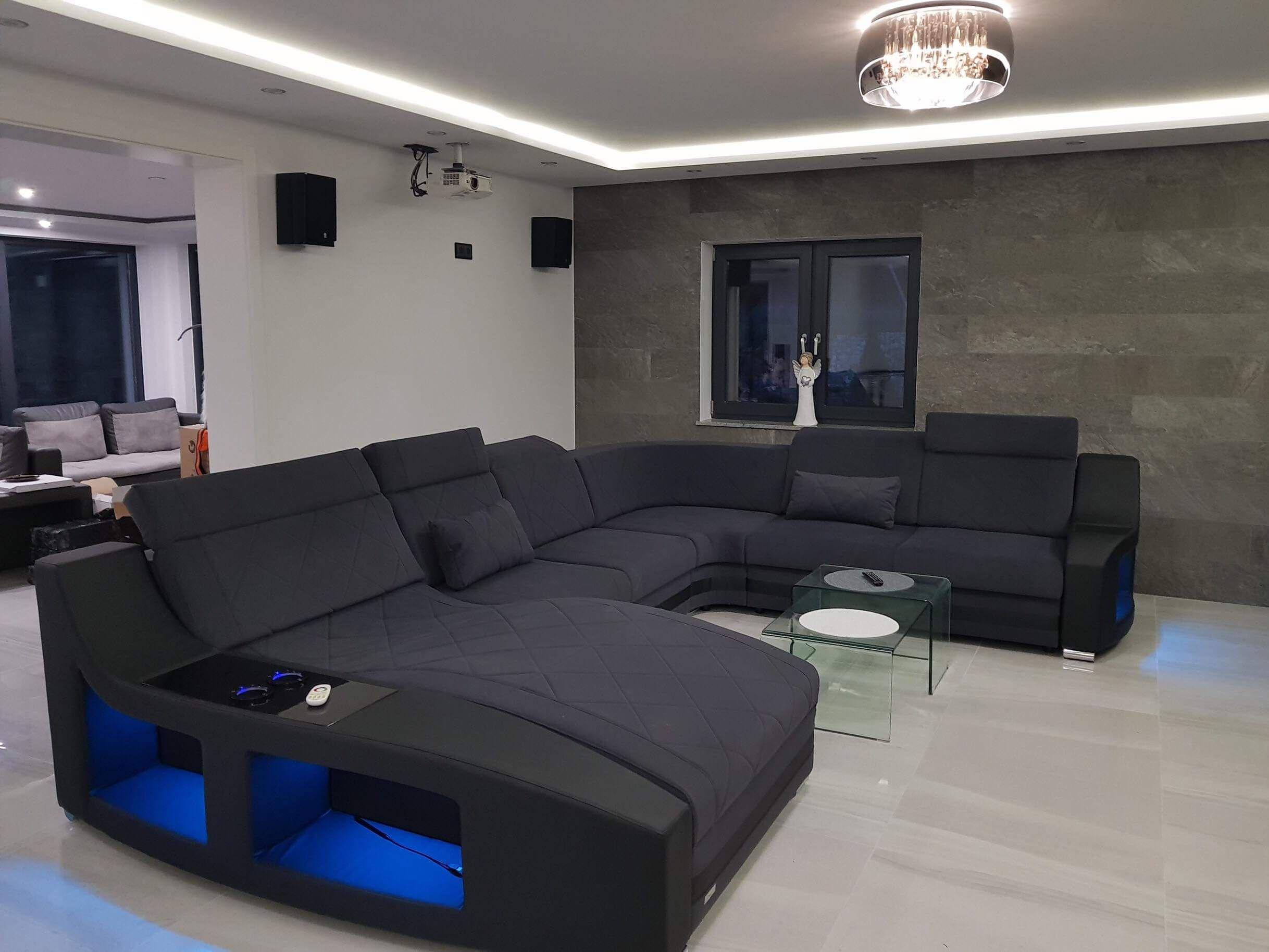 Polster Wohnlandschaft Swing U Form In 2020 Sofa Design Wohnzimmerfarben Und Wohnen