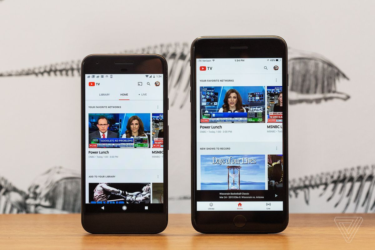 YouTube TV now supports AirPlay, so you can use it with