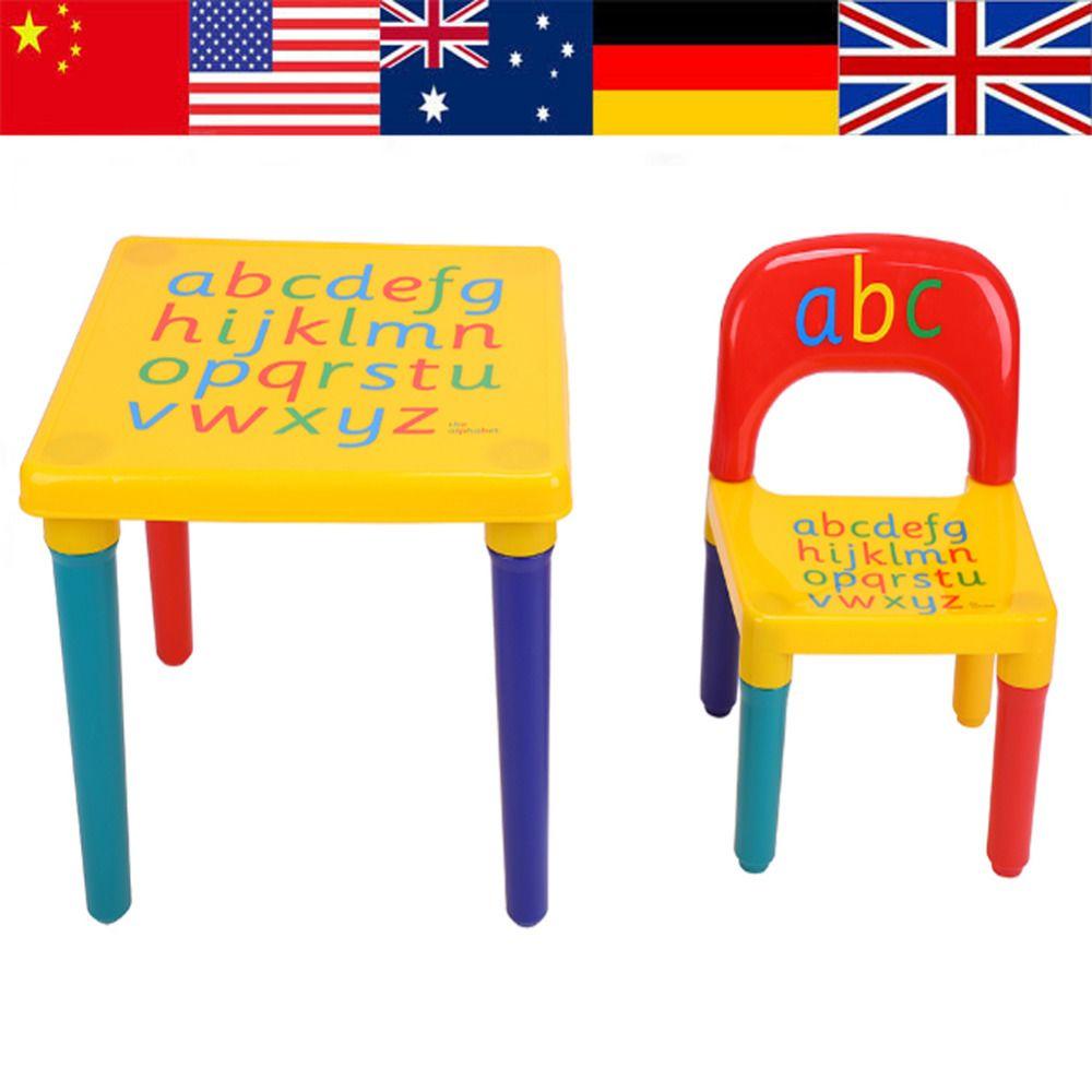 Mesa y sillas para ninos Silla Conjunto Para El Cabrito/Niños Juegos ...