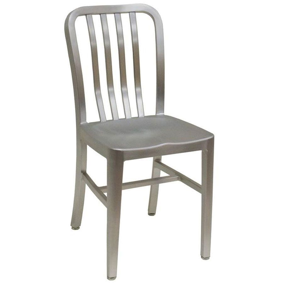 Amazing Shop American Tables U0026 Seating 57 Armless Slat Back Aluminum Chair.  Unbeatable Prices And Exceptional Customer Service From WebstaurantStore.
