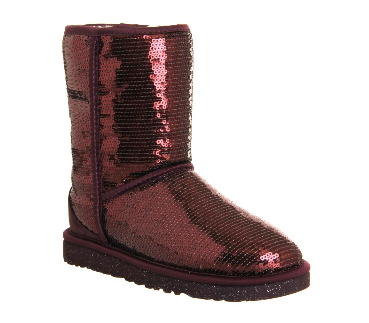 UGG Australia Classic Short Sparkles Port Sequin - Ankle Boots