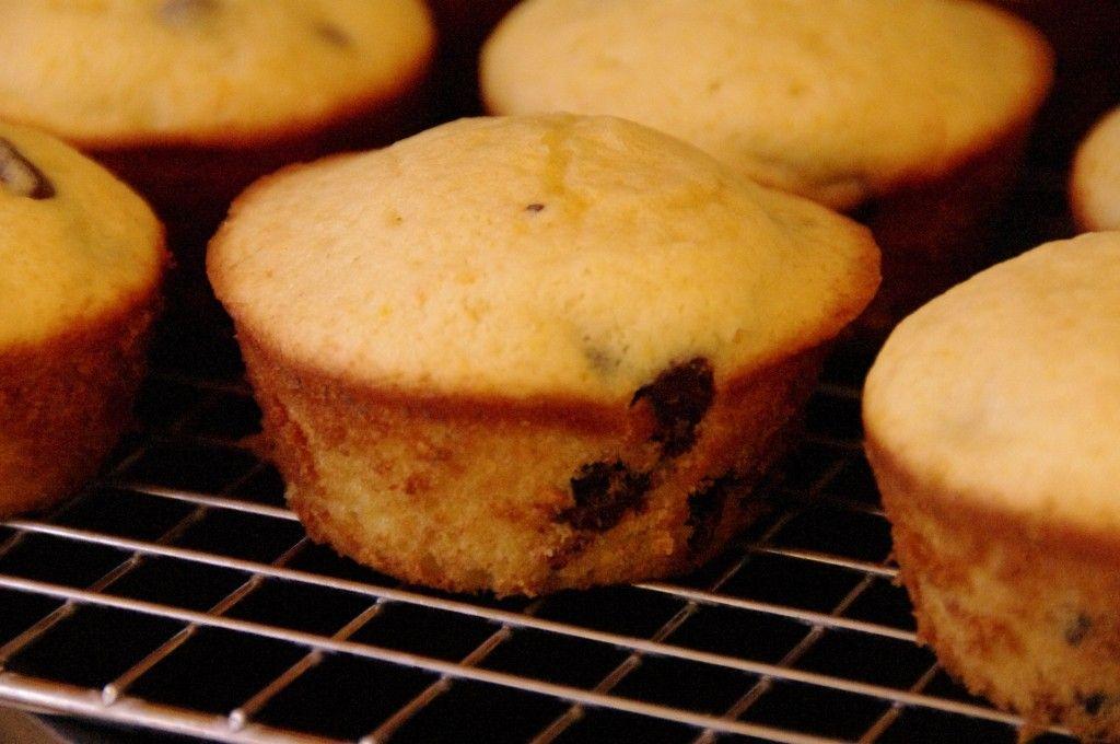Orange Chocolate Chip Muffins