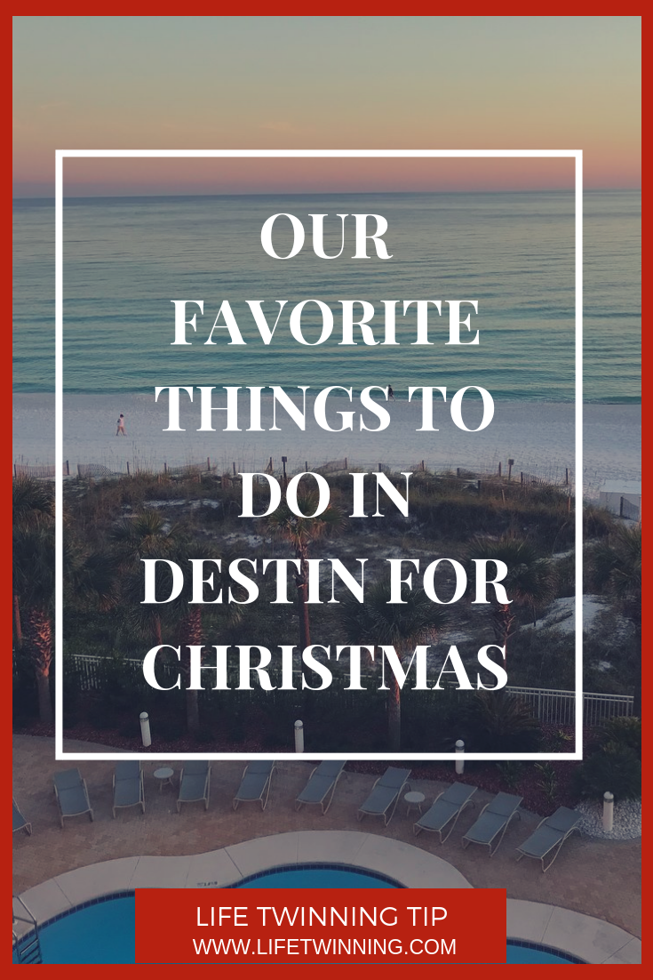 Our Favorite things to do in Destin for Christmas Destin