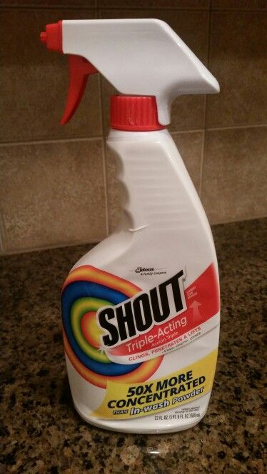 I Used Shout Laundry Stain Remover To Clean My Textured Bathtub