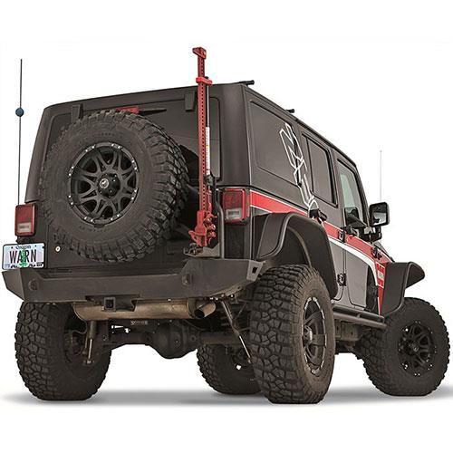Warn Off Road Jack Mount Black 90030 Jeep Wrangler Jeep