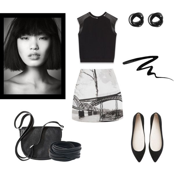 """Black chic"" by underwonder on Polyvore"