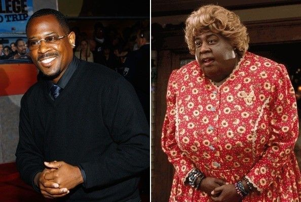 """Movie transformation: Martin Lawrence in """"Big Momma's House"""""""