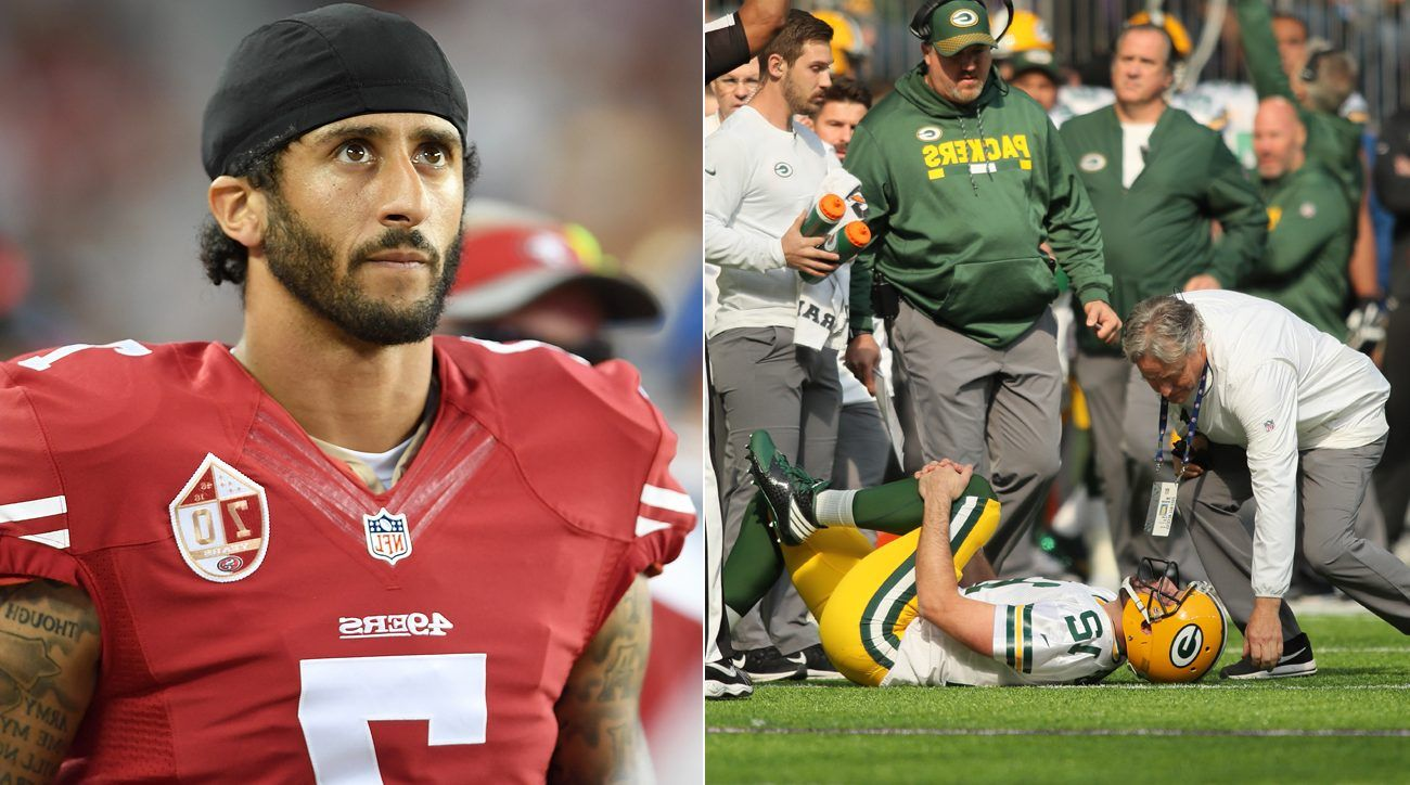 Aaron Rodgers Injury A Shock For Green Bay Packers Aaron Rodgers Injury Aaron Rodgers Green Bay