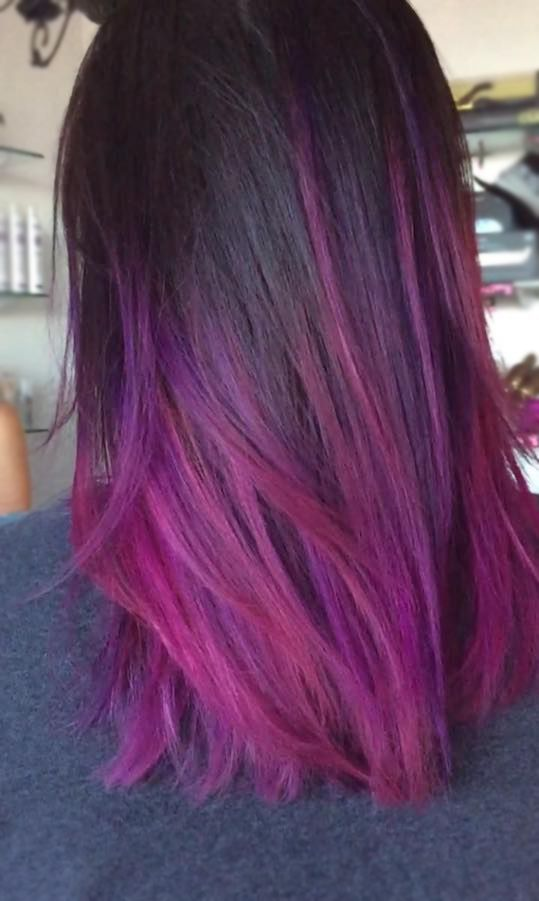 Purple Color Melt Perfection Elyse Crafted This Using Our Rio Line
