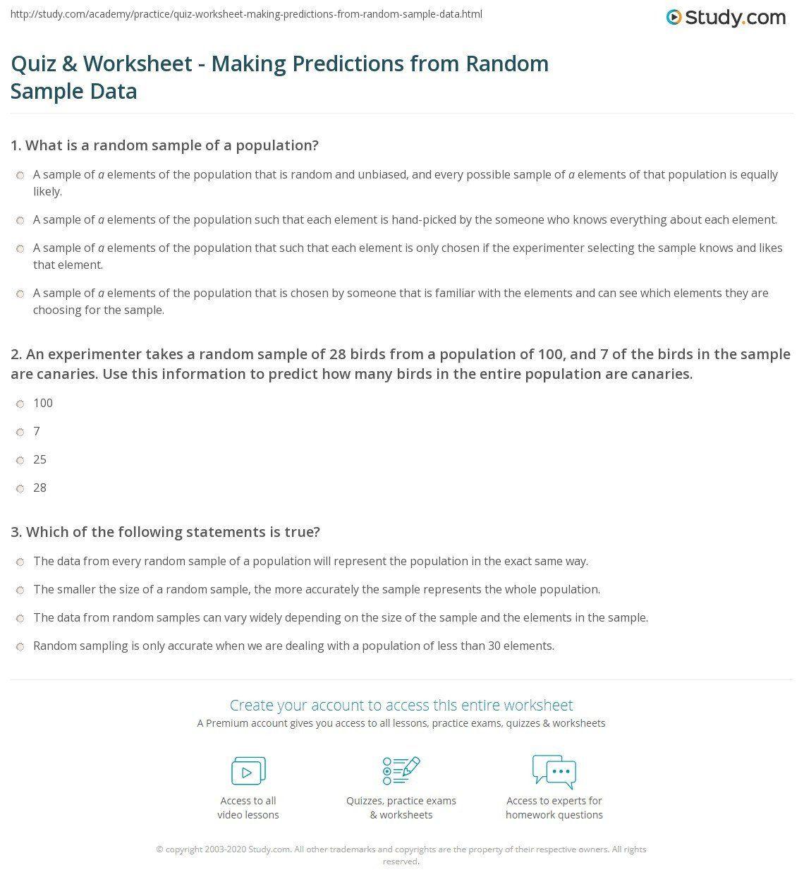 medium resolution of Making Predictions Worksheets 2nd Grade I Predict Worksheet   Making  predictions
