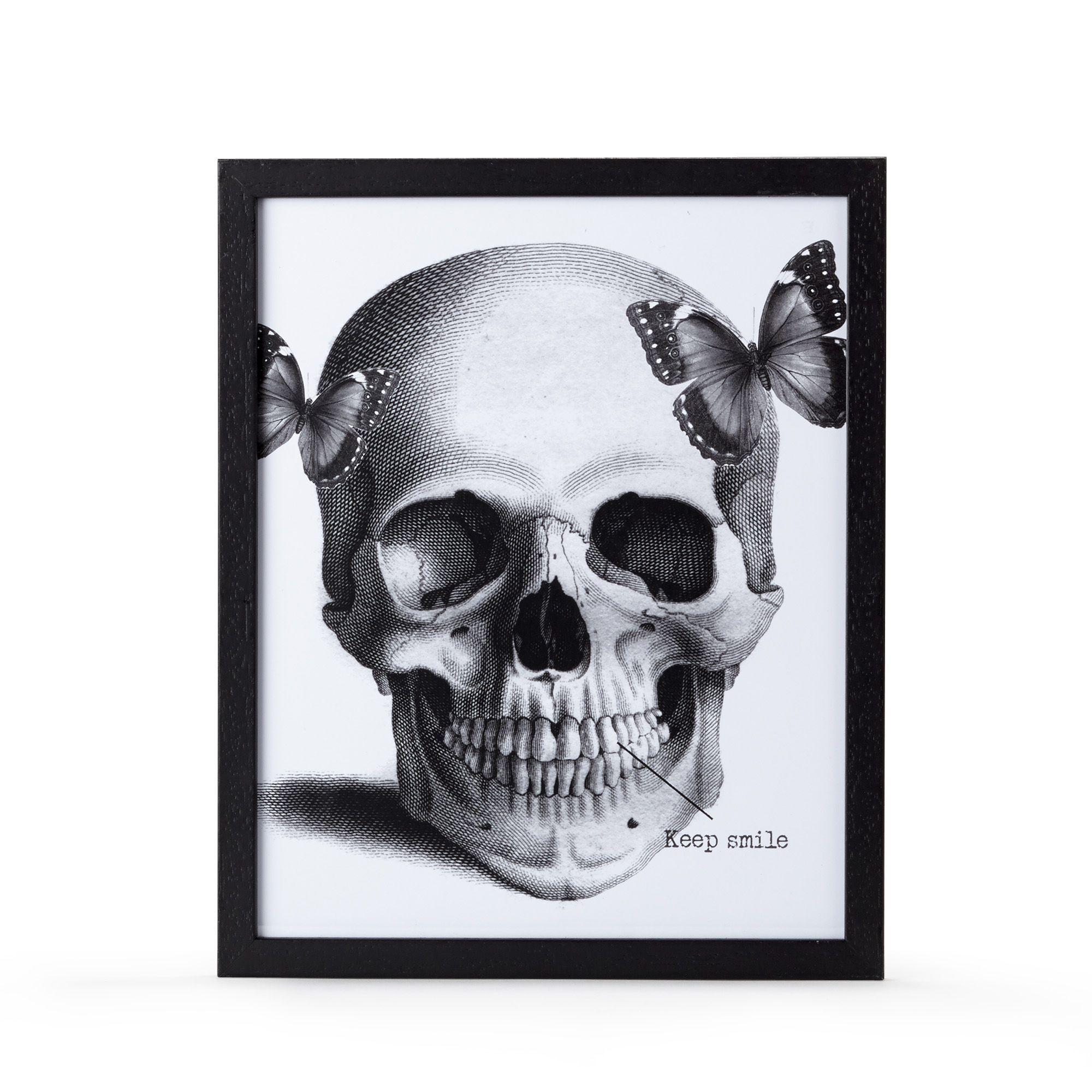 image encadr e 28x34cm noir et blanc cr ne affiches d coratives affiches et d co murale. Black Bedroom Furniture Sets. Home Design Ideas